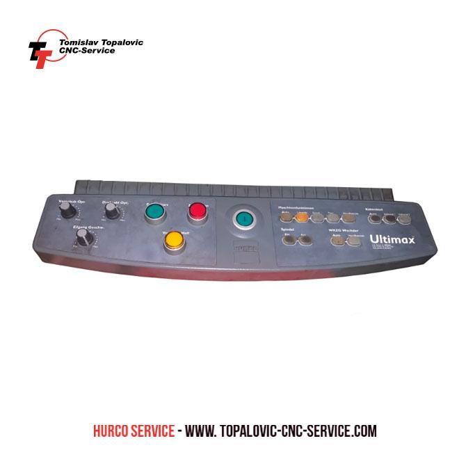 Bedienfelder Hurco Ultimax 4 - Hurco Service
