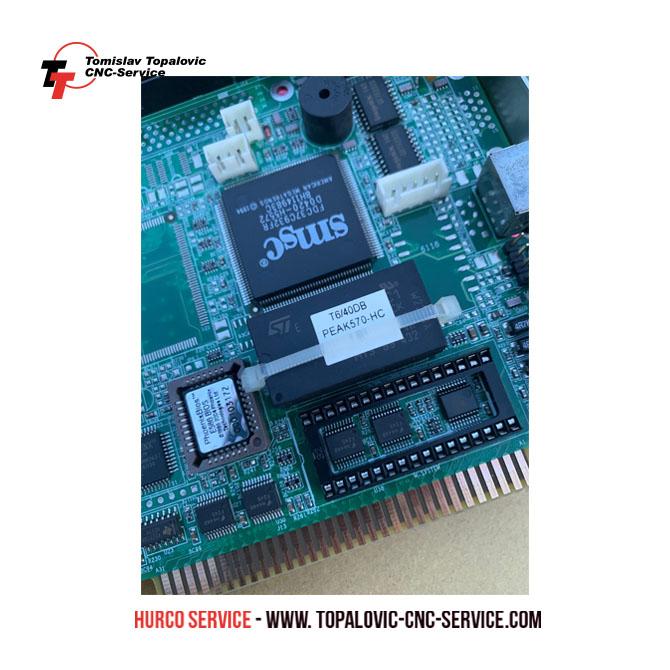CMOS Batterie für CPU PEAK 570 - Hurco Service